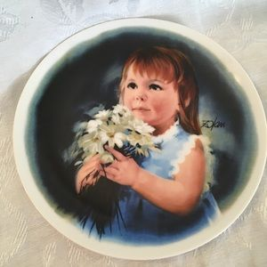 Knowles Accents - FOR YOU decorative plate-Knowles